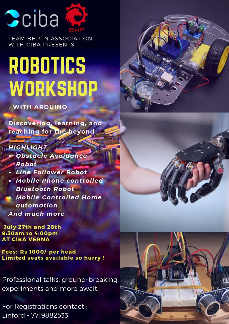ciba-The Robotics Workshop