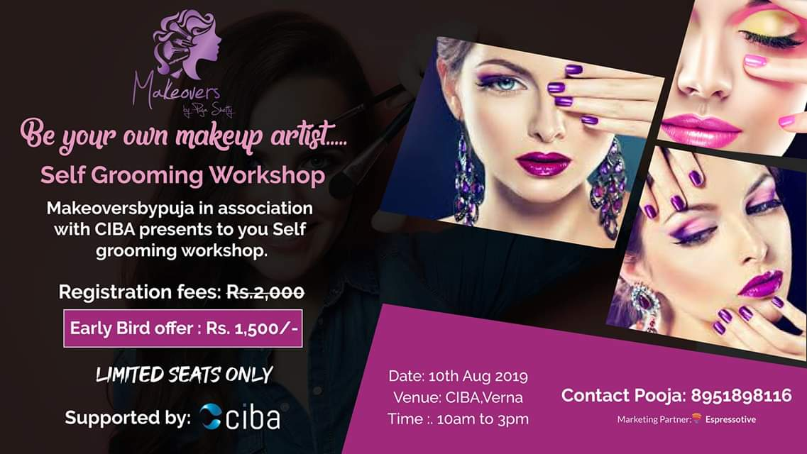 ciba-Be Your Own Makeup Artist- Self Grooming Workshop
