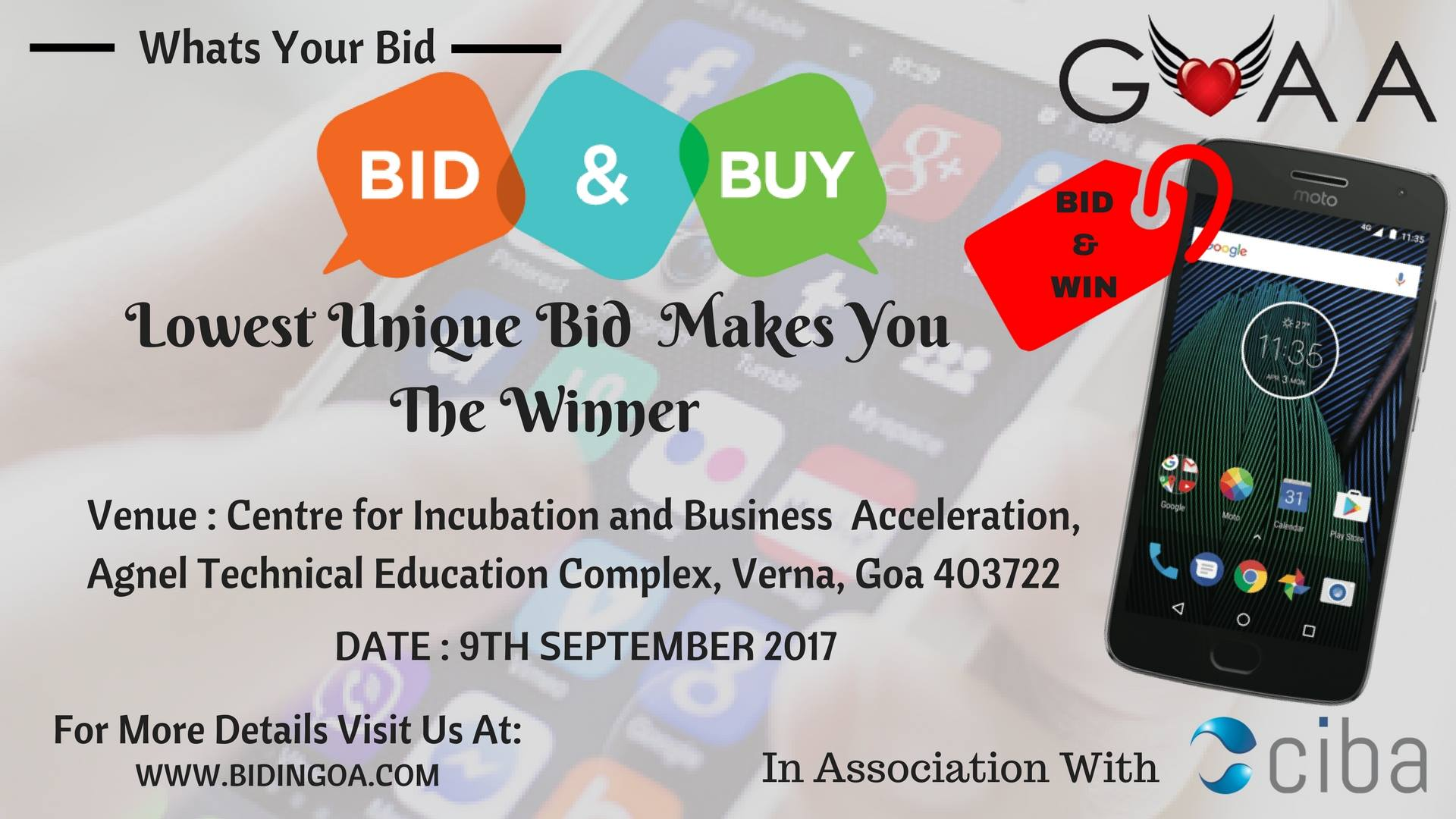 ciba-BID IN GOA