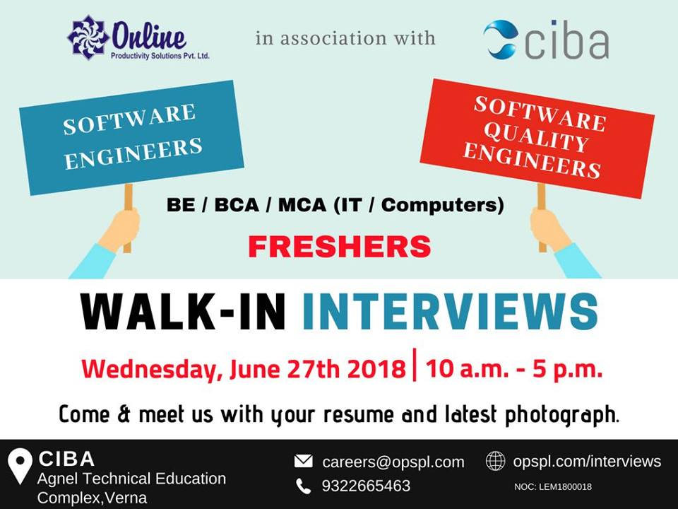 ciba-Job Oppurtunities