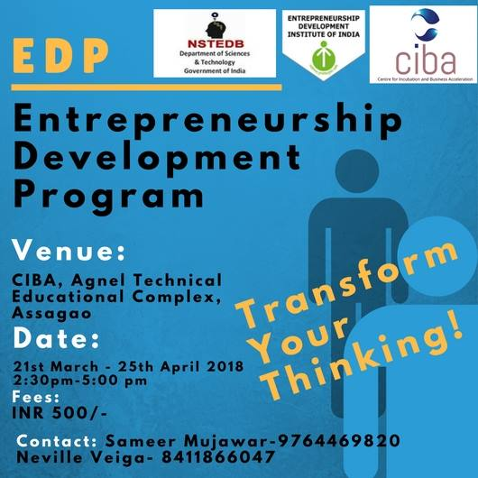 ciba-Entrepreneurship Development Program(EDP)