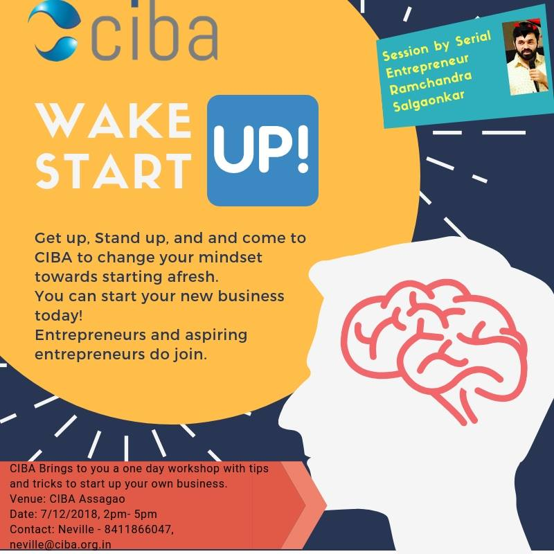 ciba-Workshop On Starting Your Own Business