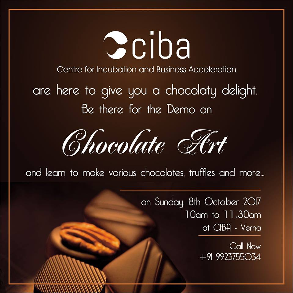 ciba-Chocolate Art Demo