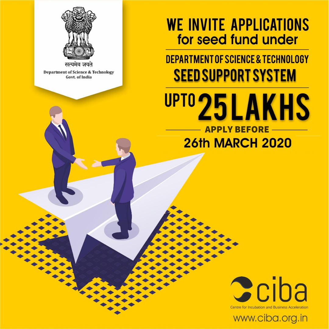 ciba-DST- Seed Support System Application Round