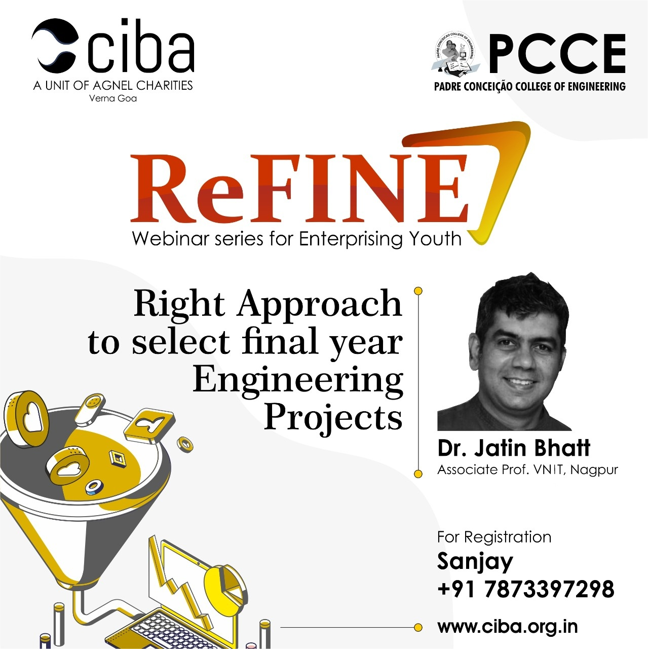 ciba-ReFINE - Right Approach to select the Final Year Engineering Project