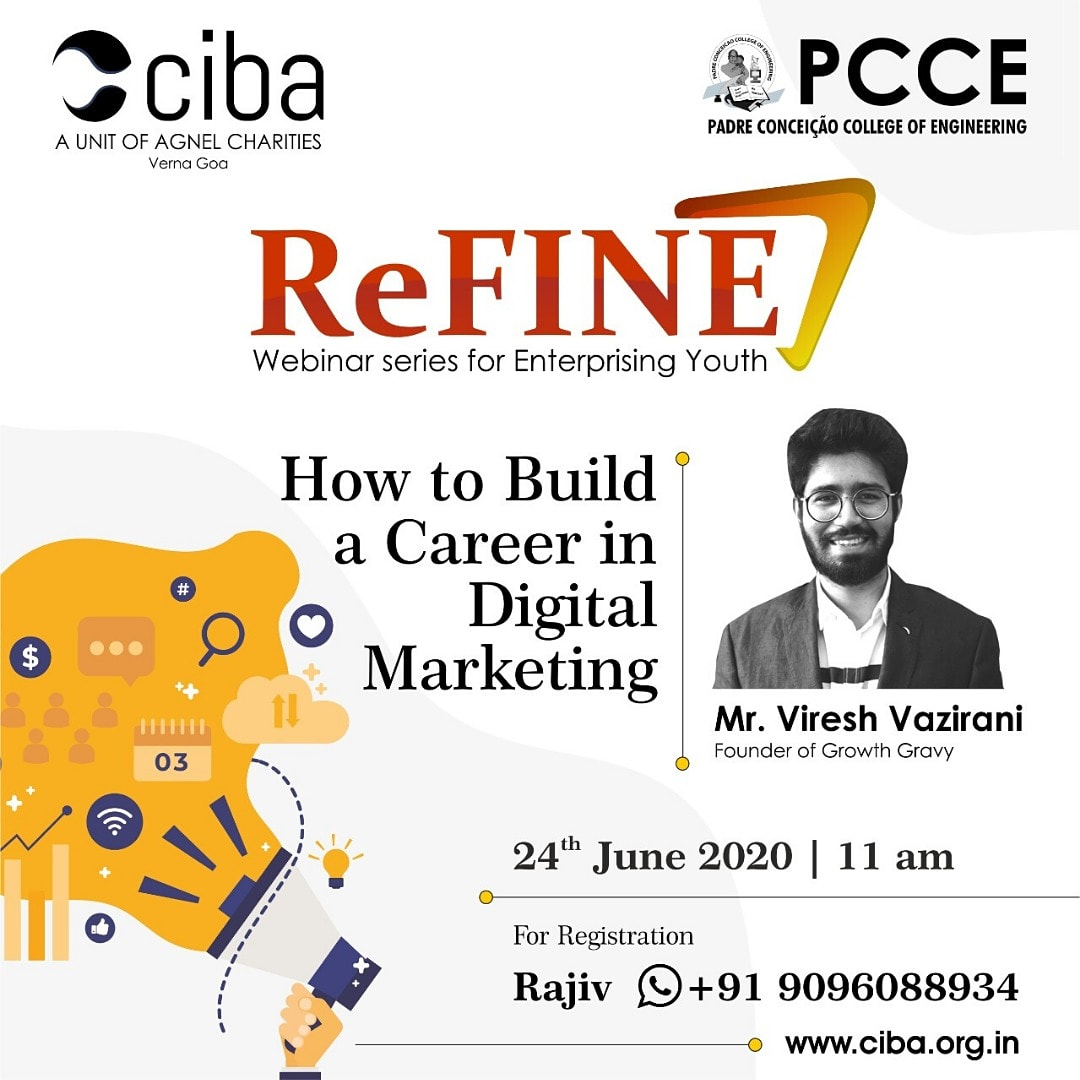 ciba-ReFINE - How to build a career in Digital Marketing