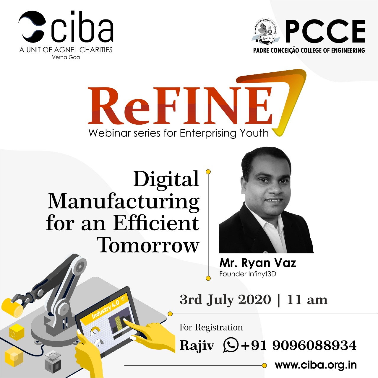 ciba-ReFINE- Digital Manufacturing for an Efficient Tomorrow