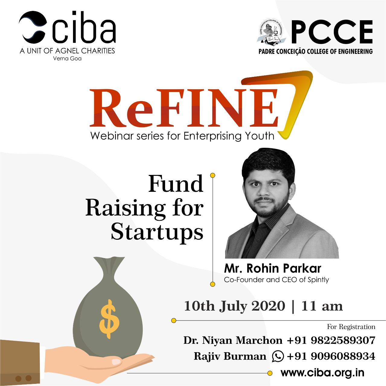 ciba-ReFINE - Fund Raising for Startups