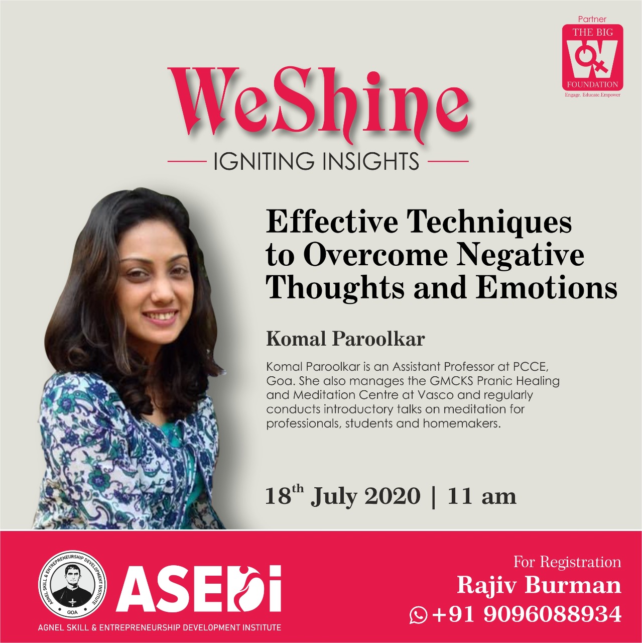 ciba-WeSHINE - Effective Techniques to Overcome Negative Thoughts and Emotions
