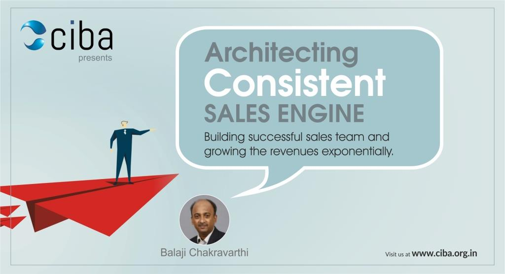ciba-Architecting  Consistent Sales Engine