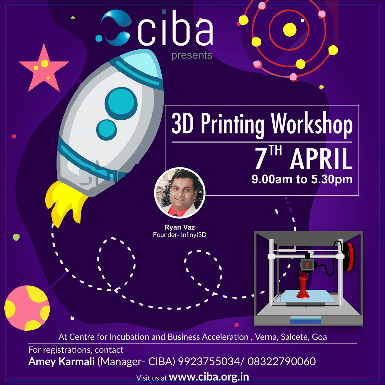 ciba-3D Printing Workshop