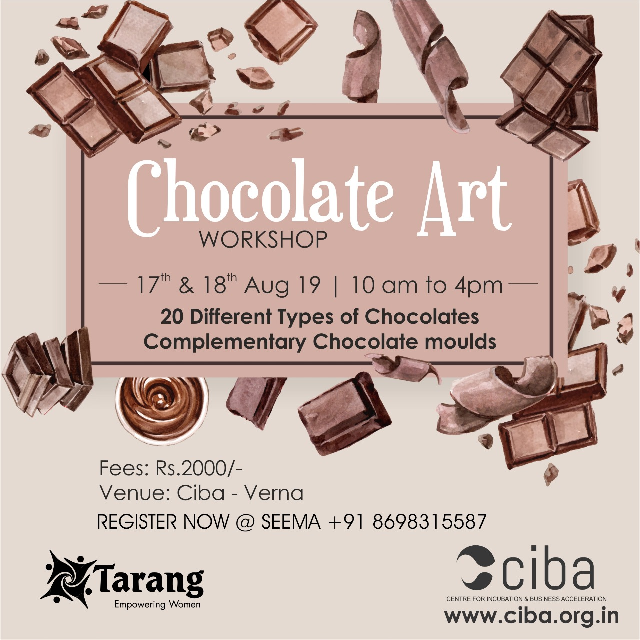 ciba-Chocolate Making Workshop