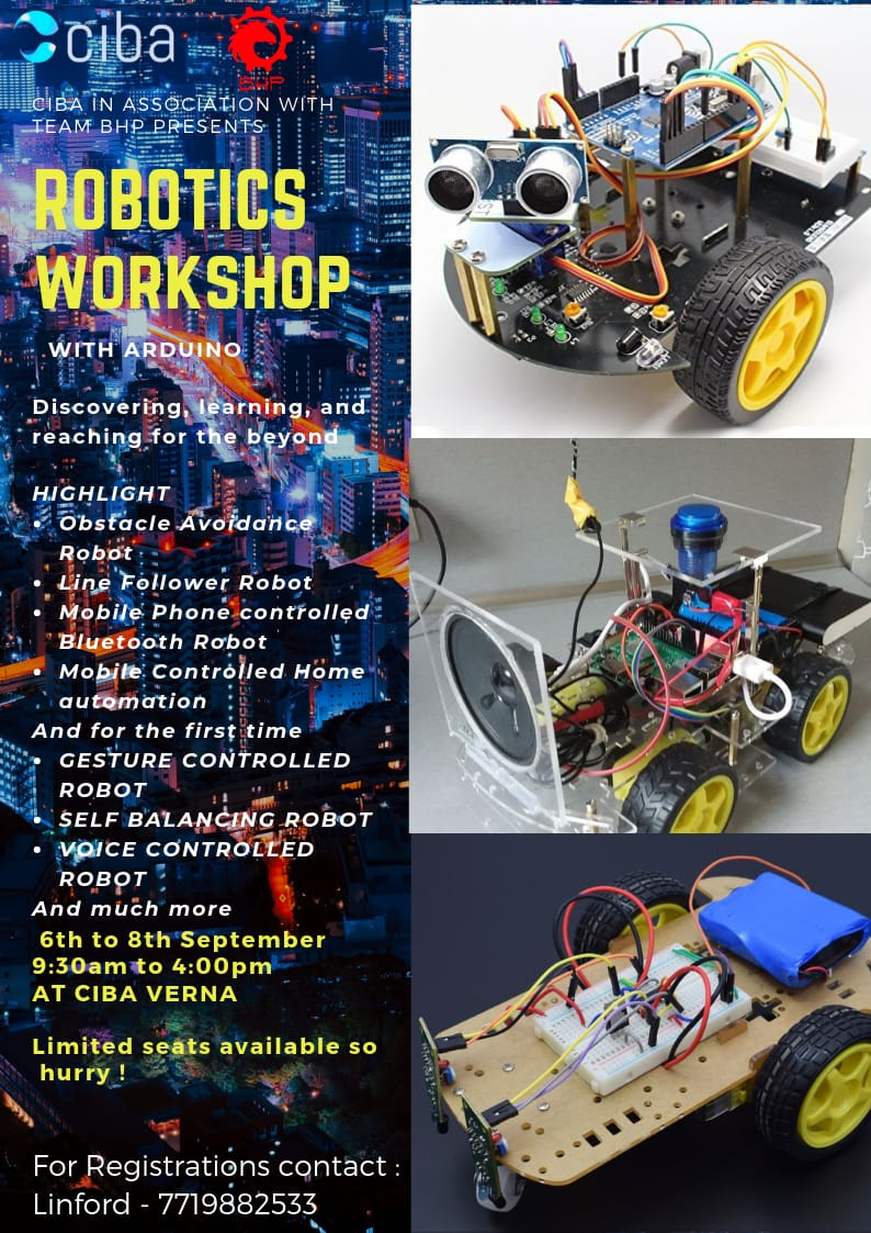 ciba-Robotics Workshop