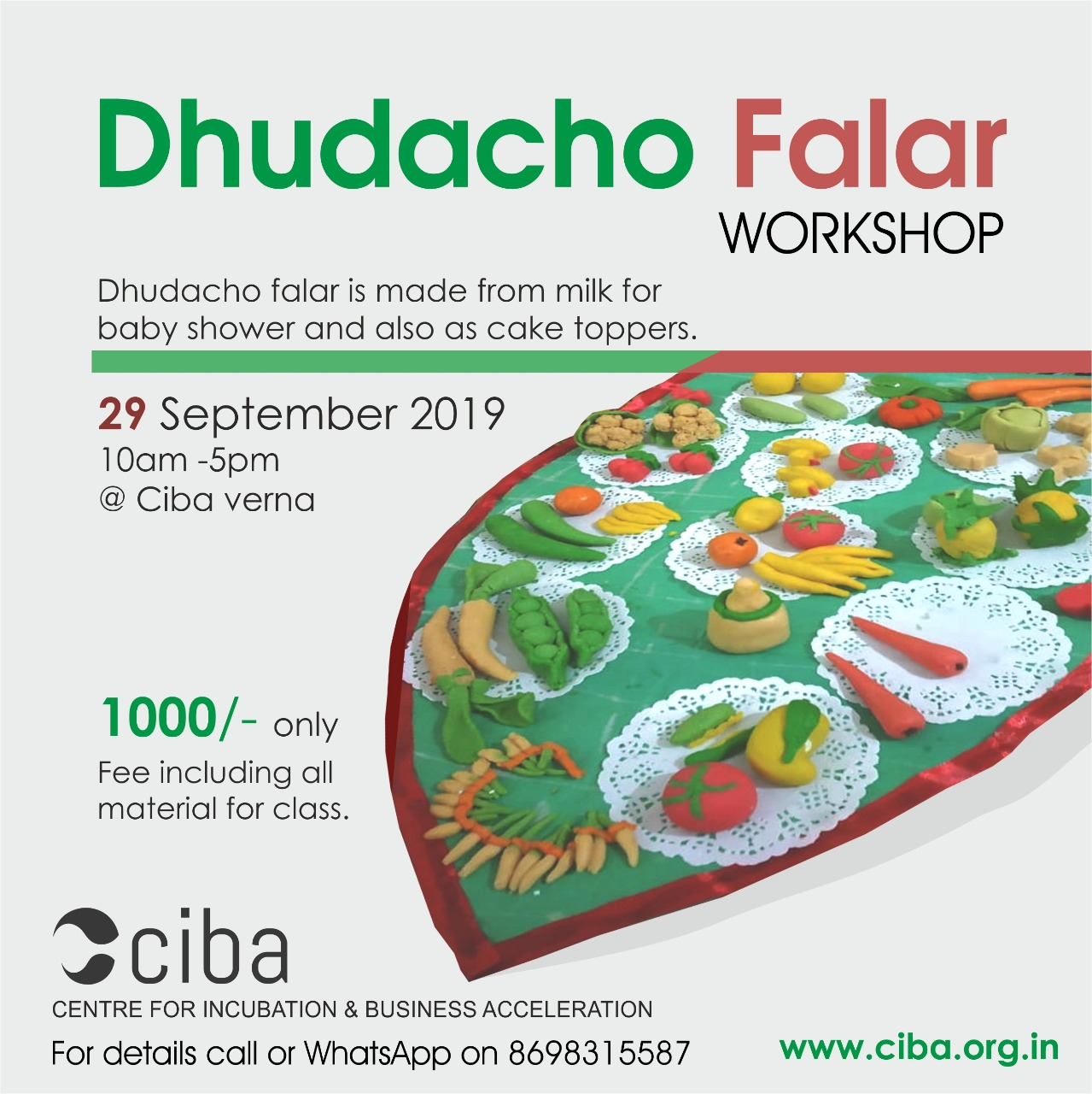 ciba-Dhudacho Falar Workshop