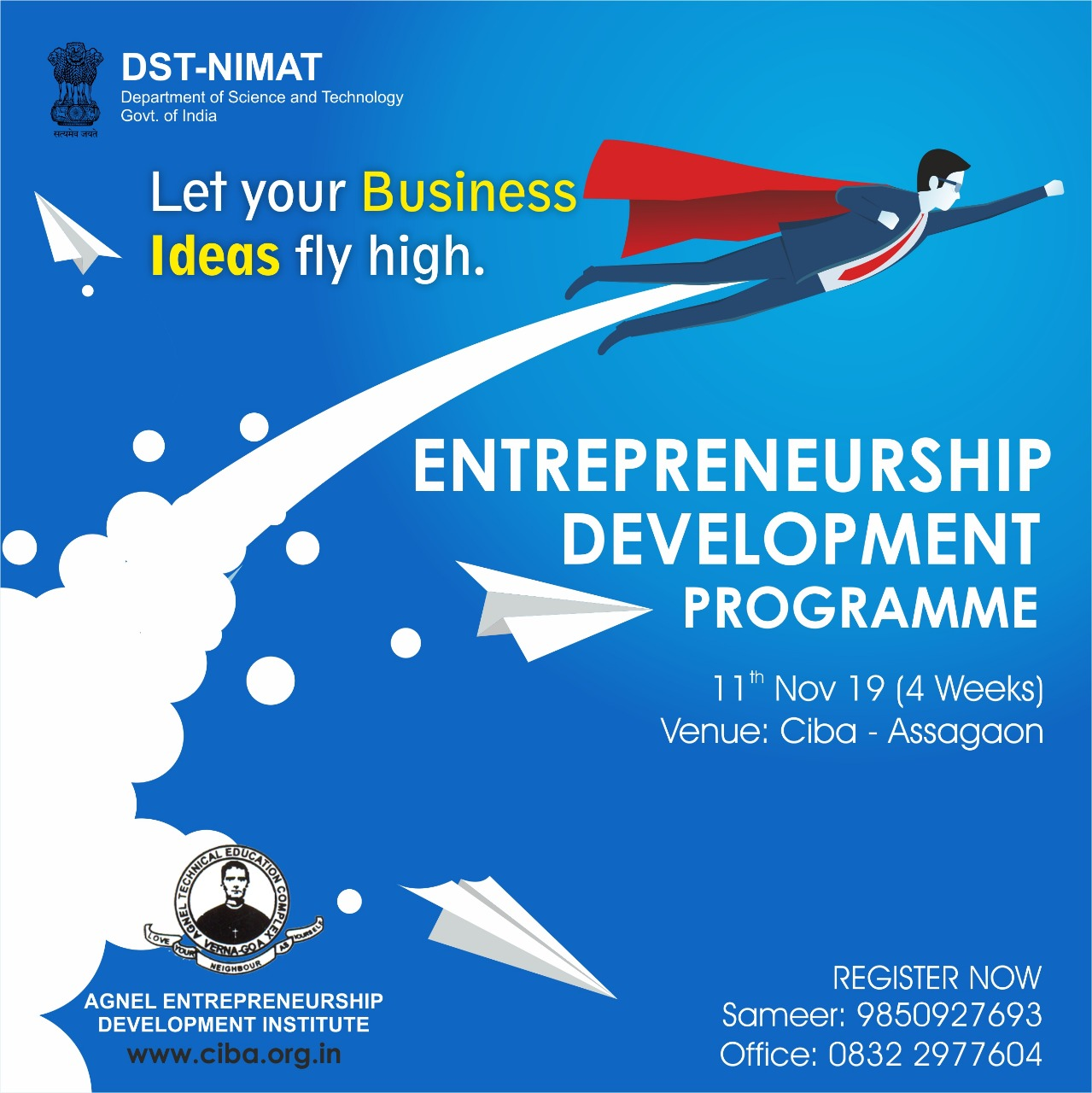 ciba-Entrepreneurship Development Program