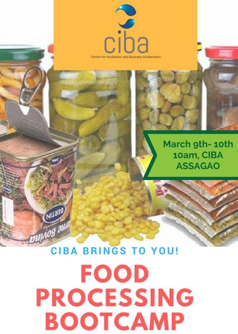 ciba-Bootcamp In Food Processing