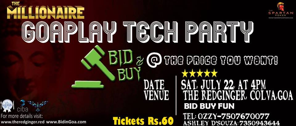 ciba-GOA PLAYTECH PARTY