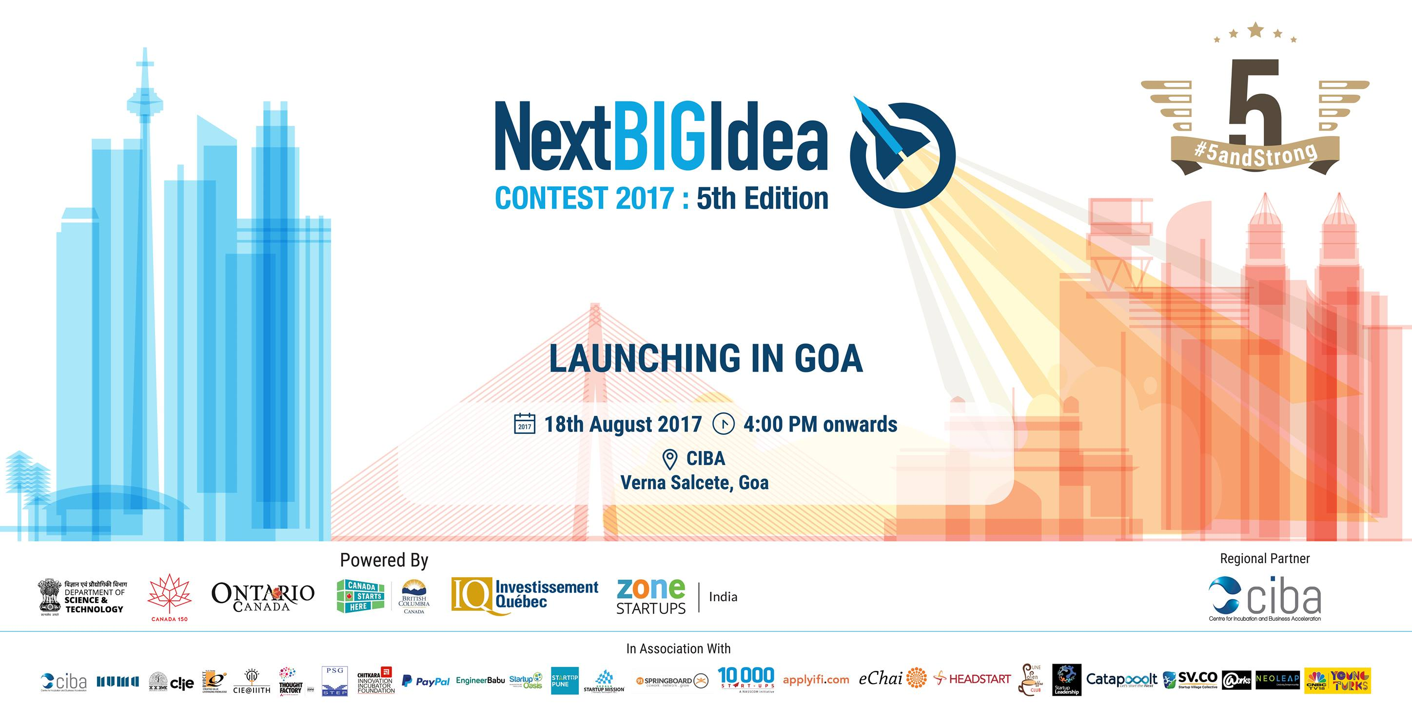 ciba-Next Big Idea Contest 2017-5th Edition