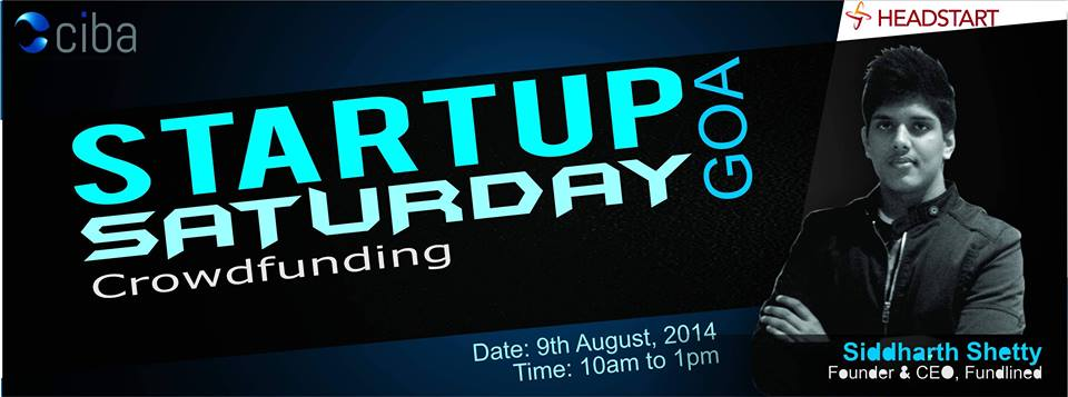 ciba-Startup Saturday Goa : August Edition