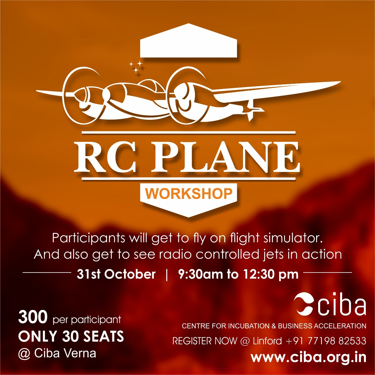 ciba-RC PLANE WORKSHOP
